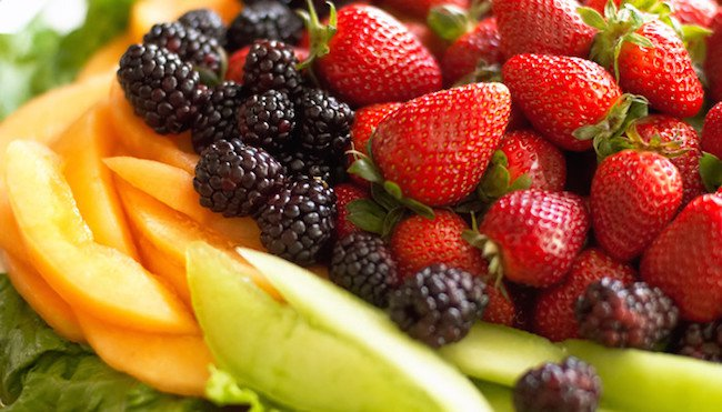fruits and vegetables in diet