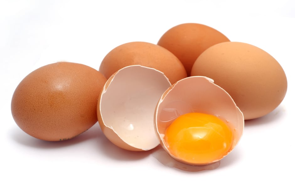 Whole eggs are a good source of Vitamin A