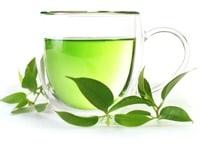 green tea for breakfast