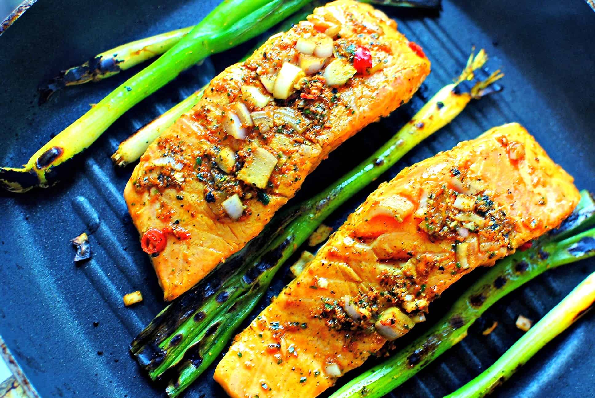 Turmeric and Salmon Recipe