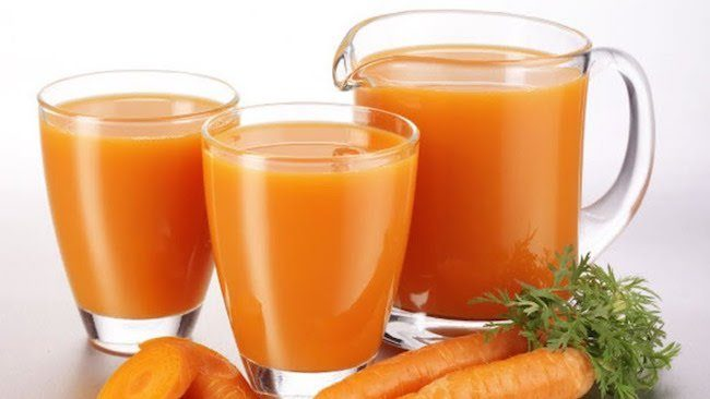 benefits from carrot juice