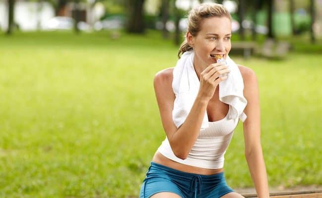 high protein snacks for women