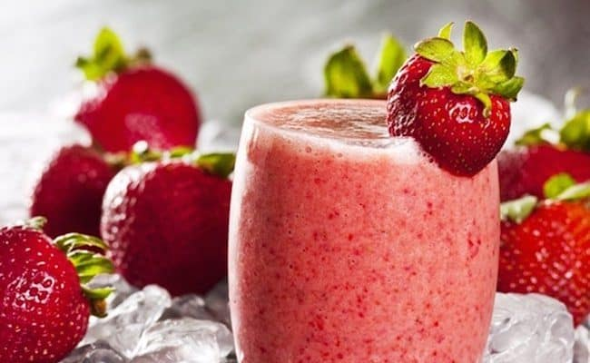 home made smoothie