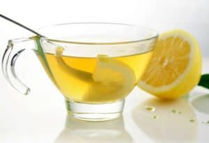 Are there any benefits from drinking hot water with lemon in the morning?