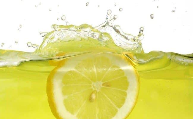 lemon water helps weight loss