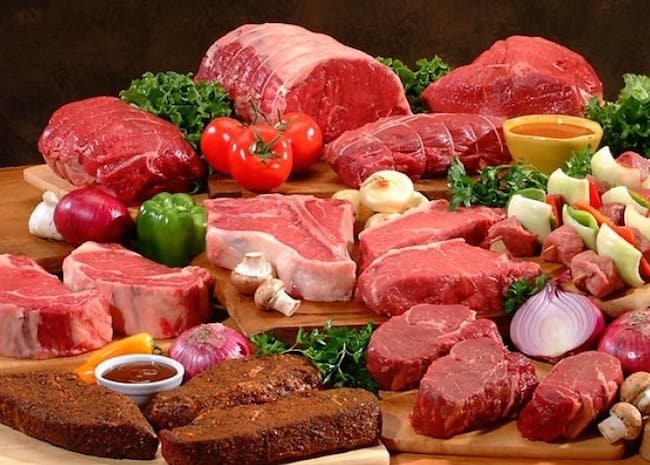 Red meat fat content