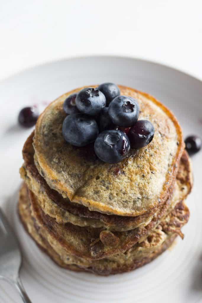 chia seeds pancake